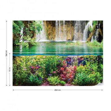 Jungle Waterfall Photo Wallpaper Wall Mural