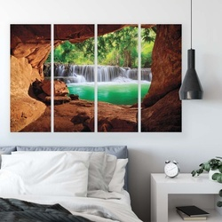 Lakes & Waterfalls Canvas Photo Print