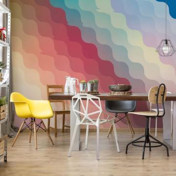 Modern Gradient Pattern Photo Wallpaper Wall Mural
