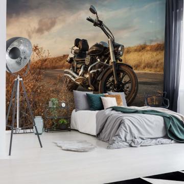 Motorcycle Photo Wallpaper Wall Mural