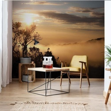 Mountain Sunrise Photo Wallpaper Wall Mural