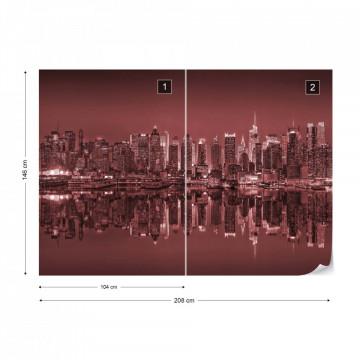 New York – Reflexie în Apă, Roșu