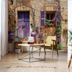 Old Stone House Photo Wallpaper Wall Mural