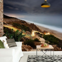 Out Of The Beach Photo Wallpaper Mural