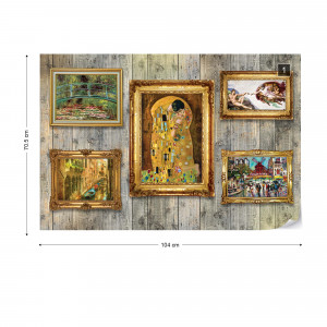 Paintings Art Wood Wall Background Photo Wallpaper Wall Mural