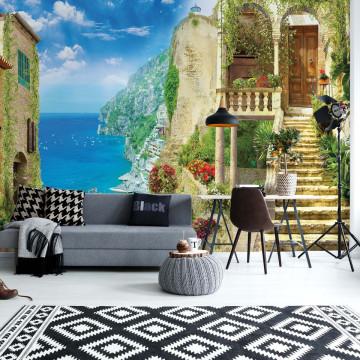 Paradise View Photo Wallpaper Wall Mural