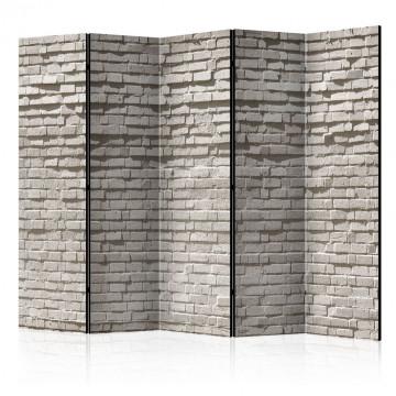 Paravan - Brick Wall: Minimalism II [Room Dividers]