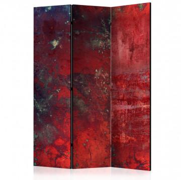Paravan - Red Concrete [Room Dividers]