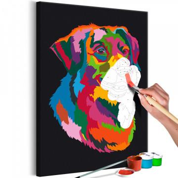 Pictatul pentru recreere - Colourful Dog