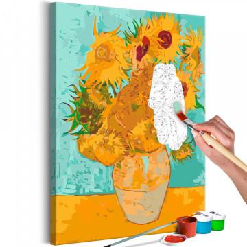 Pictatul pentru recreere - Van Gogh's Sunflowers