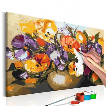Pictatul pentru recreere - Vase Of Pansies