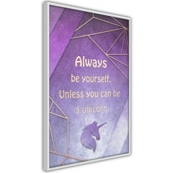 Poster - Always Be Yourself