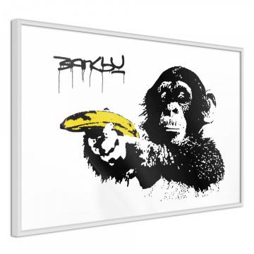 Poster - Banksy: Banana Gun II