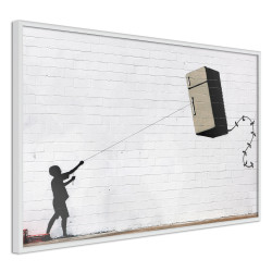Poster - Banksy: Fridge Kite
