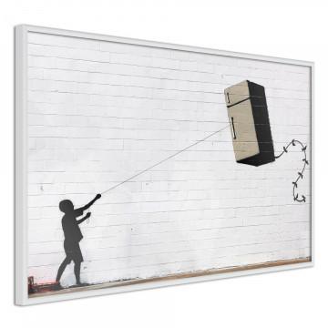Poster - Banksy: Fridge Kite