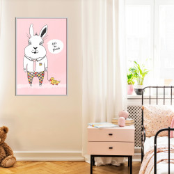 Poster - Friendly Bunny