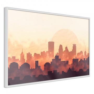 Poster - Melancholy of Sunset