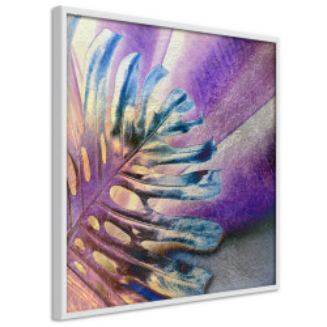 Poster - Multicoloured Leaf