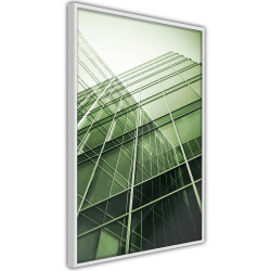 Poster - Steel and Glass (Green)