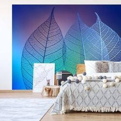 Prismatic Leafs Photo Wallpaper Mural