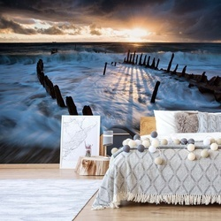 Shipwrecked Photo Wallpaper Mural