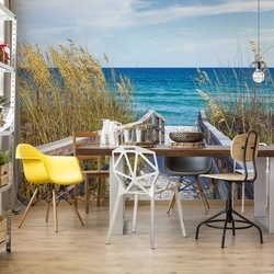 Sylt White Sand Beach Path Coastal Photo Wallpaper Wall Mural