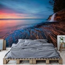 Symphony Of Sunset Photo Wallpaper Mural