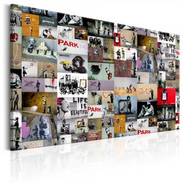 Tablou - Art of Collage: Banksy
