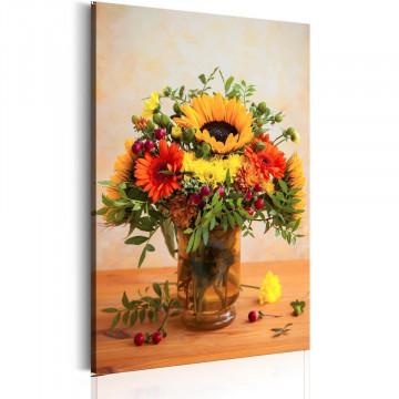 Tablou - Autumnal Flowers