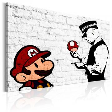 Tablou - Banksy on Brick