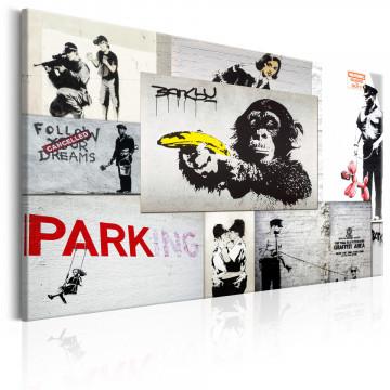 Tablou - Banksy: Police Fantasies