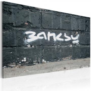 Tablou - Banksy: signature