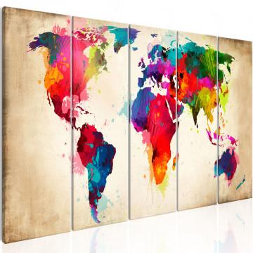 Tablou - Bright Continents
