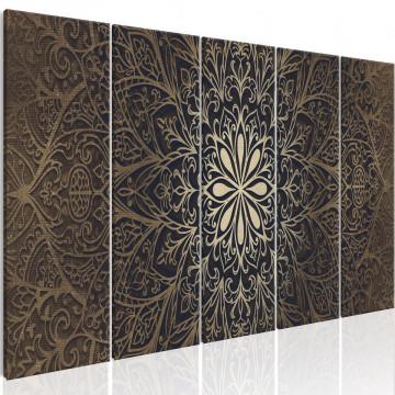 Tablou - Brown Mandala