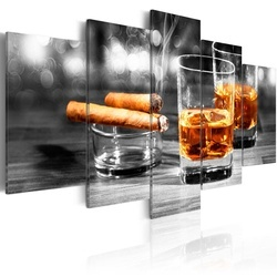Tablou - Cigars and whiskey