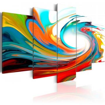 Tablou - Colorful swirl