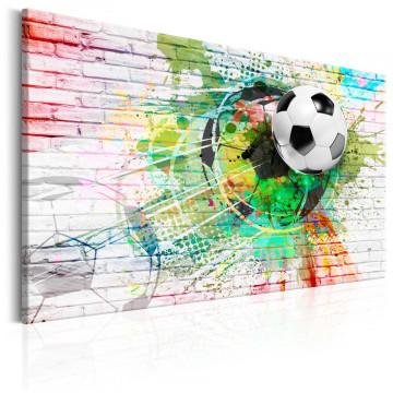 Tablou - Colourful Sport (Football)