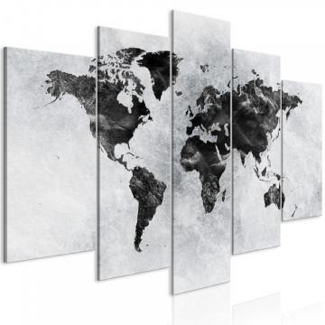 Tablou - Concrete World (5 Parts) Wide