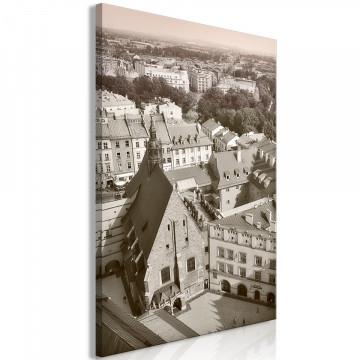 Tablou - Cracow: Old City (1 Part) Vertical