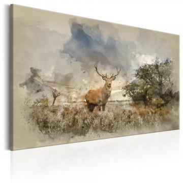 Tablou - Deer in Field