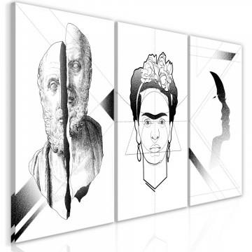Tablou - Facial Composition (3 Parts)