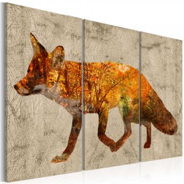 Tablou - Fox in the Wood