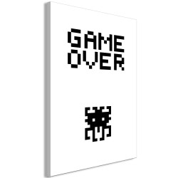 Tablou - Game Over (1 Part) Vertical