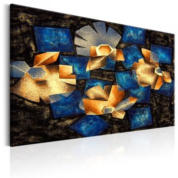 Tablou - Geometrical Flowers