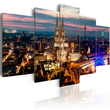 Tablou - Koeln: Night Panorama