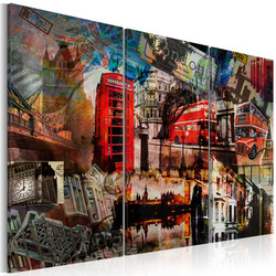 Tablou - London collage - triptych