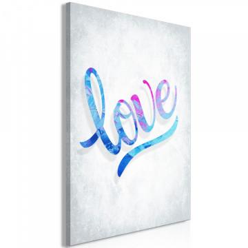 Tablou - Love (1 Part) Vertical