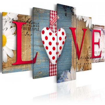 Tablou - LOVE - handmade