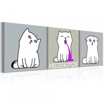 Tablou - Miezekotze: Cat Trio
