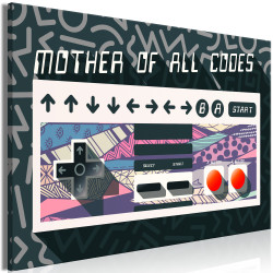 Tablou - Mother of All Codes (1 Part) Wide
